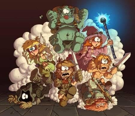 L'équipe du Donjon de Naheulbeuk
