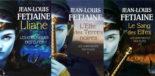 les 3 couvertures de la Chroniques Des Elfes