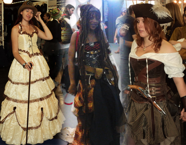 Cosplay Steampunk et Pirate