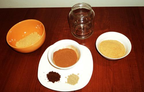 Ingrédients poudre