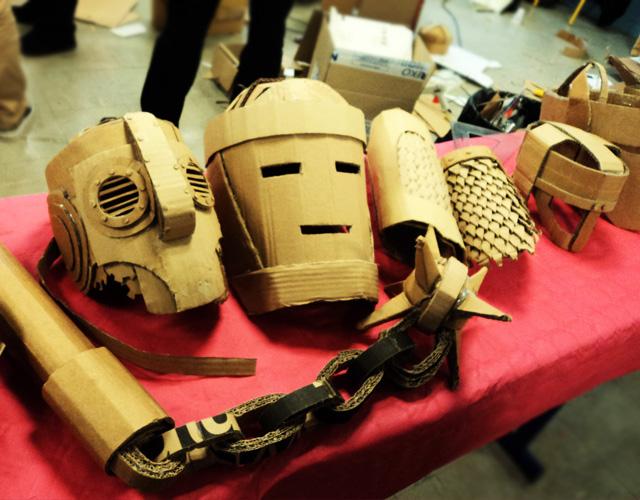 Les cartonnades et leurs masques