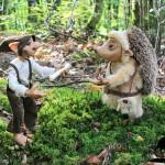Un univers peuplé de petits êtres des bois, une ambiance intimiste par dessus tout !