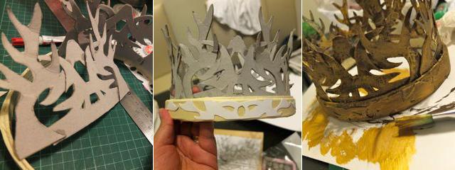 couronne royale trone de fer