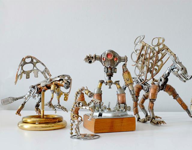 Le cri de l'étain (Artiste sculpteur) Quand la Nature rencontre le métal…
