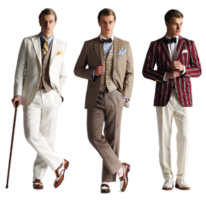 Tenues hommes par Cargo-collectives, collection great gatsby
