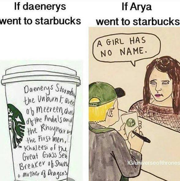 Arya starbucks