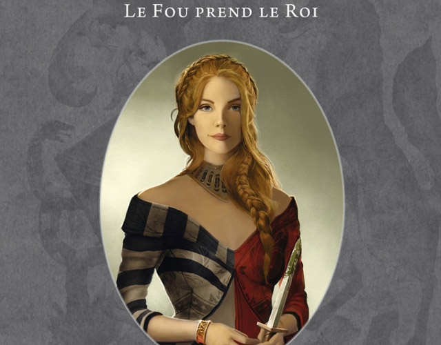 Le Bâtard de Kosigan  (T2) : Le Fou prend le Roi de Fabien Cerutti (Roman Fantasy)