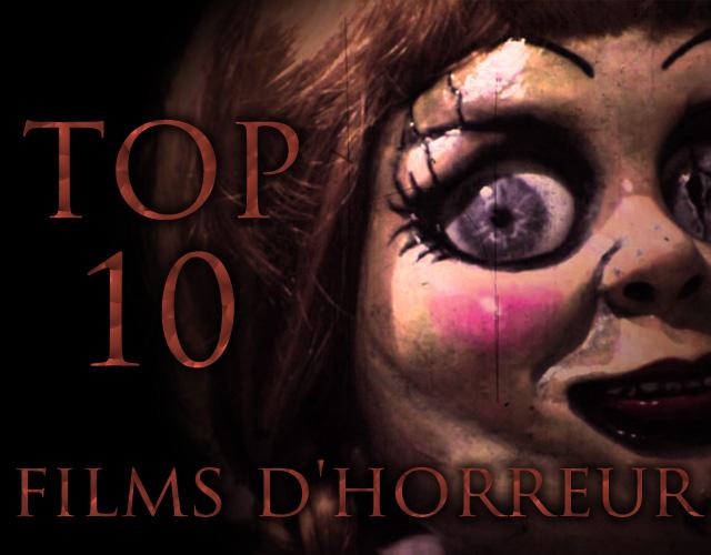 Top 10 des films d'horreur pour Halloween